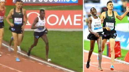 Keniaan verliest zijn schoen in volle race en moet op blote voet verder, maar niet veel later is hij wel 50.000 dollar rijker