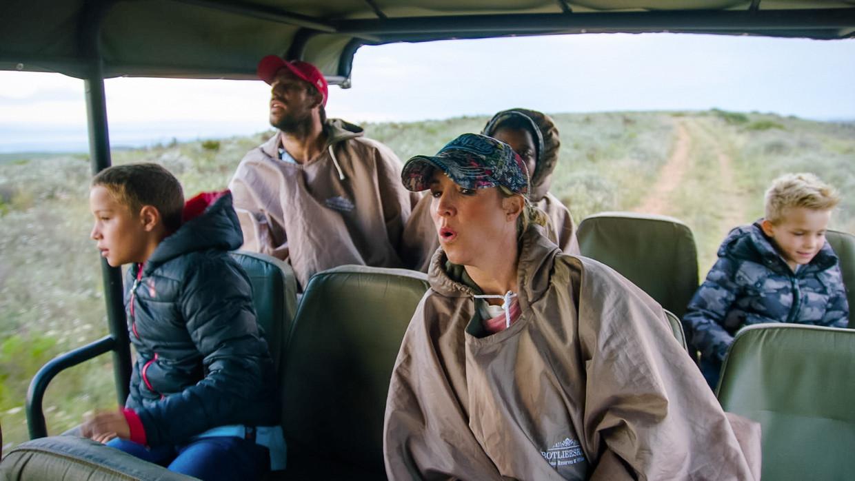 'Villa Zuid-Afrika' Beeld VTM2