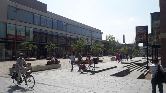 Het Boreelplein in Deventer, waar Albert Heijn zich mogelijk zou willen vestigen.