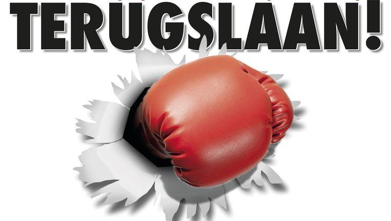 Partijvoorzitter Tom Van Grieken vindt de bokshandschoen van Dewinter 'niet meer van deze tijd'. Beeld rv