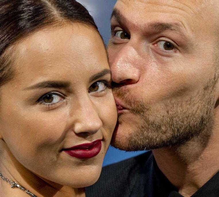 DJ Don Diablo (R) met zijn vriendin. Beeld anp