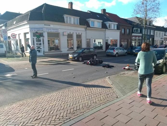Weer Is Het Raak Op Centrumring Bergen Op Zoom Bergen Op Zoom