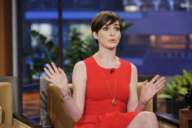 Anne Hathaway. Beeld getty