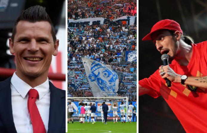 Daniel Van Buyten et Romeo Elvis seront présents au stade Vélodrome ce mercredi 13 octobre à 19 heures