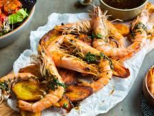 Wat Eten We Vandaag: Gegrilde scampi met chimichurri