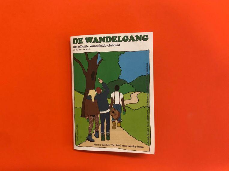 De Wandelgang, het blad van Tim Knols Wandelclub. Beeld x