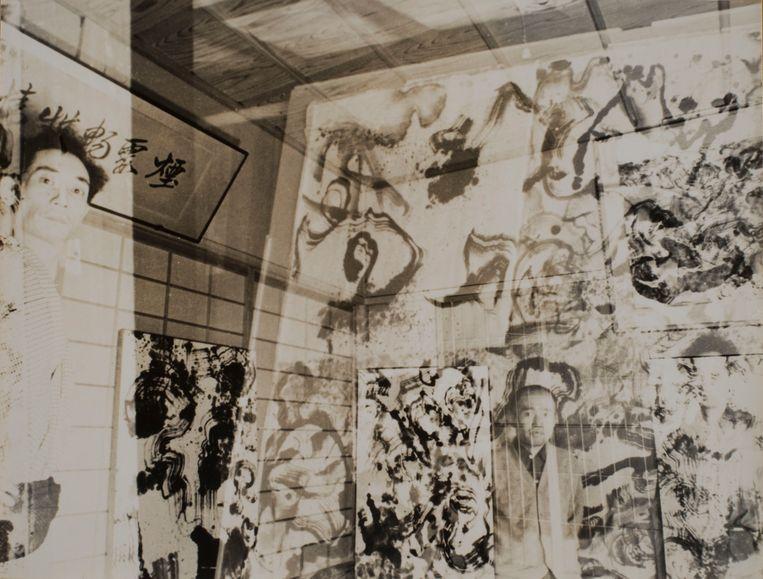 Onishi maakte gebruik van verschillende montagetechnieken en stuntte met belichting.   Beeld Shigeru onishi courtesy of MEM Tokyo