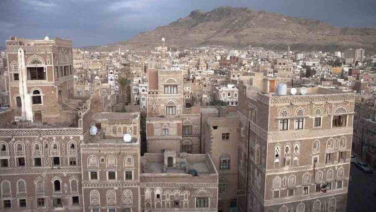 De hoofdstad van Jemen, Sanaa Beeld reuters