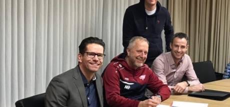 Mario Plugers en Stiphout Vooruit verlengen samenwerking