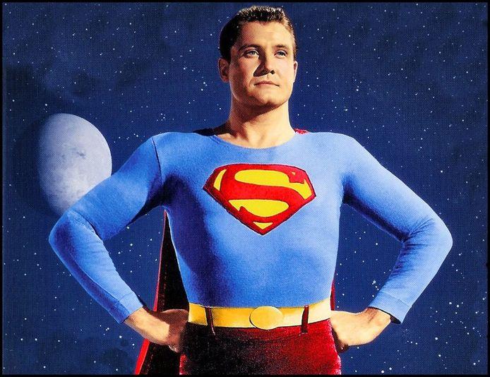 George Reeves in 'Adventures of Superman' in 1952