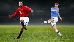 Beiden meesters in voorzetten: Engelse topanalist zet Kevin De Bruyne naast David Beckham