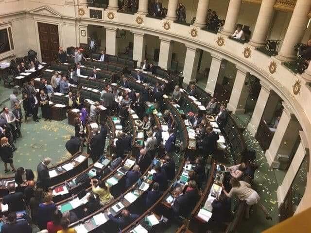 Taal Aktie Komitee (TAK) in het Federaal Parlement