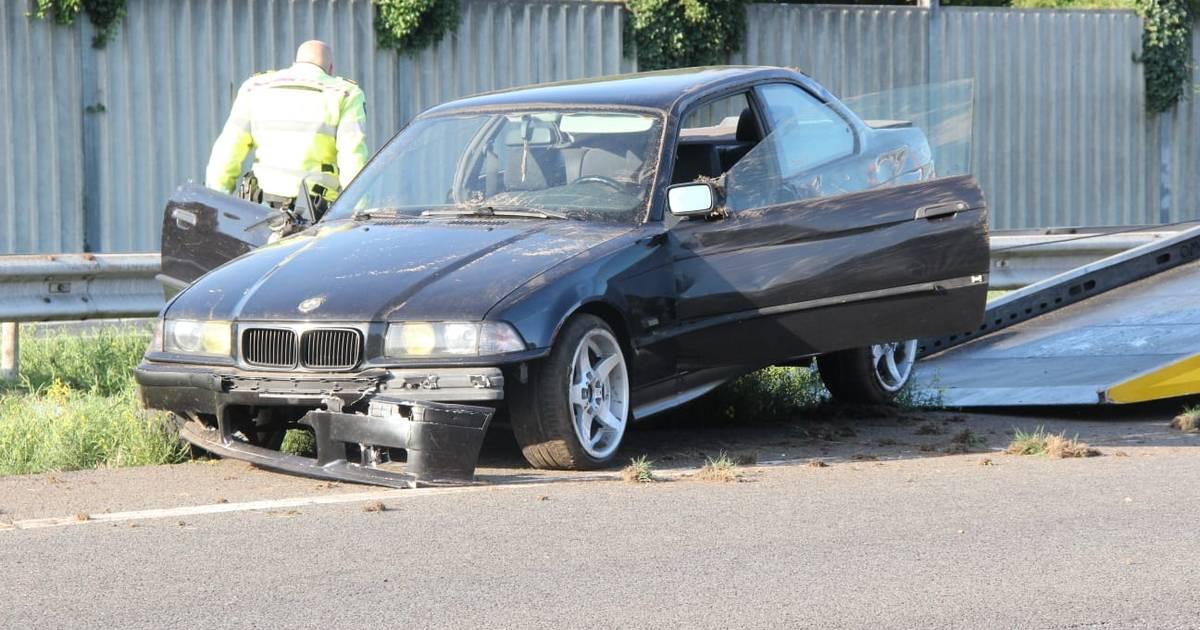 Automobilist gewond bij eenzijdig ongeval op A1 bij Enter.