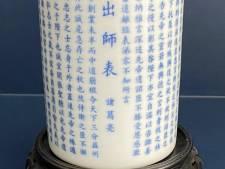 Verzamelaar uit Rijssen verkoopt een oude Chinese penselenbeker, maar wat brengt zo'n ding op?