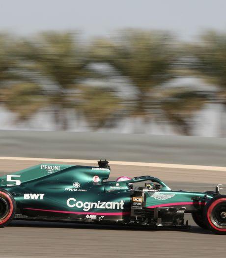 Vettel moet bij debuut voor Aston Martin voor straf achteraan starten