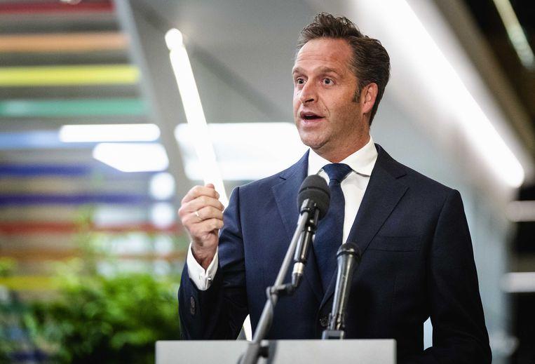 Hugo de Jonge, minister van Volksgezondheid. Beeld ANP