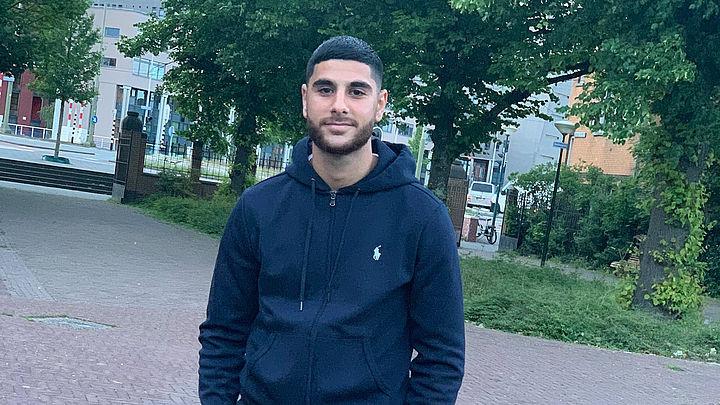 Bilal Aydin, een slachtoffer van een steekpartij in Den Haag.
