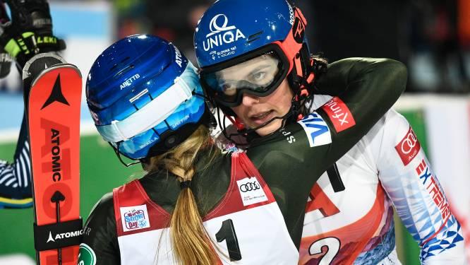 Vlhova blijft Shiffrin voor op slalom in Flachau