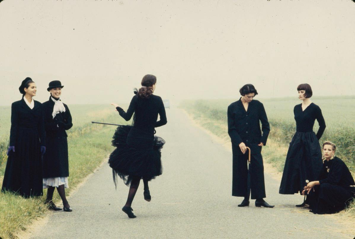 1988 voor Marie Claire. Chateau de Raray.