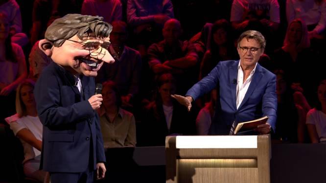 Herman Brusselmans verrast als zingende Erik Van Looy