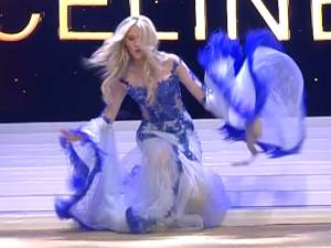 Elle perd son soutien-gorge mais devient Miss Belgique