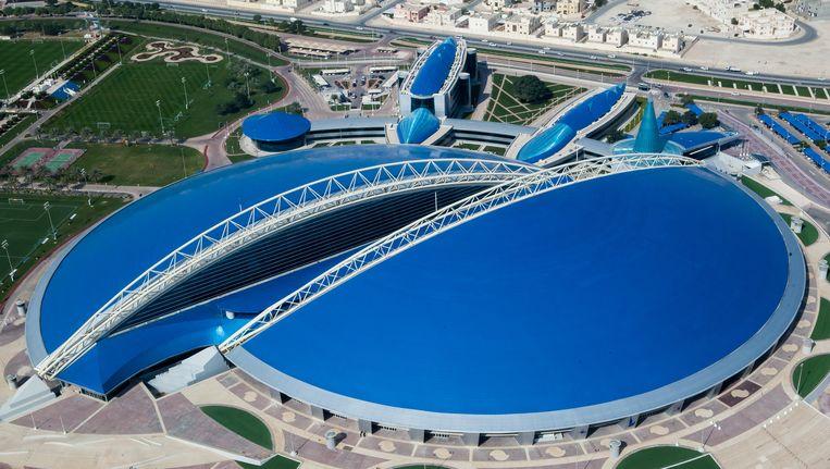 Aspire Academy in Qatar Beeld Getty Images