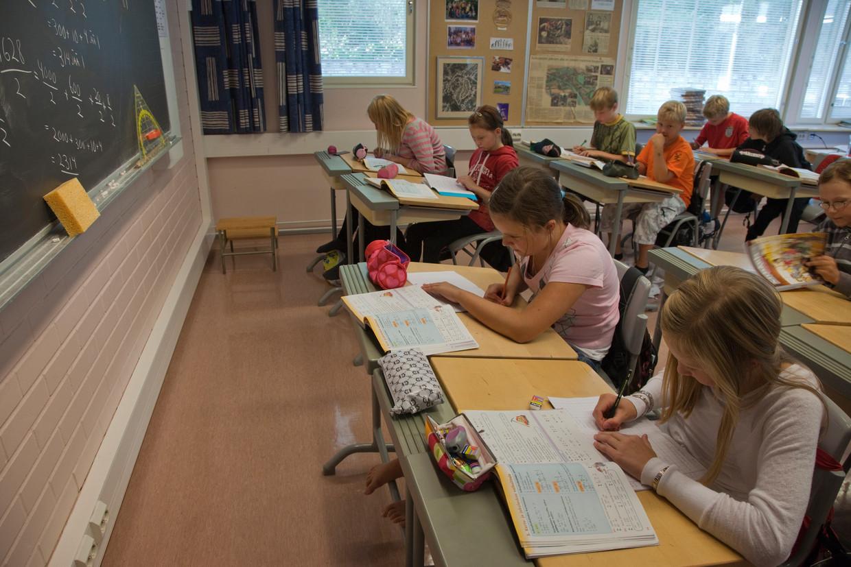 Een school in Finland Beeld ullstein bild via Getty Images
