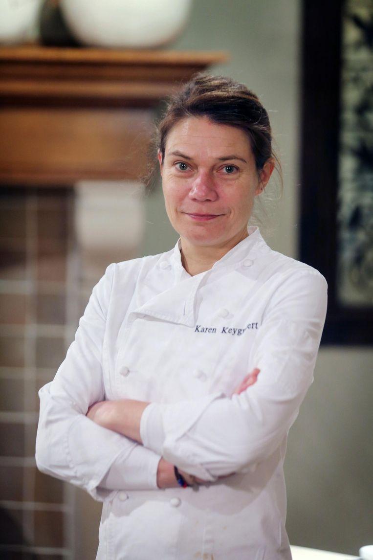 Chef Karen Keygnaert.
