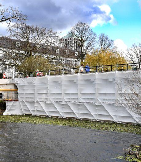 Is een inpakkunstenaar aan de slag geweest in Boxmeer?
