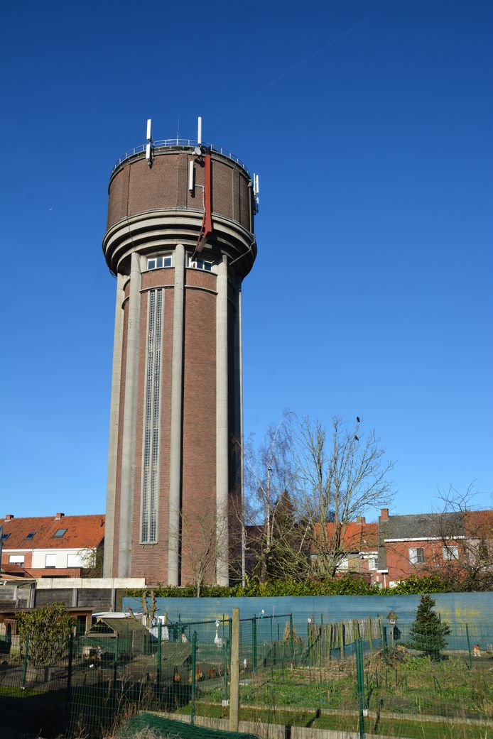 De watertoren van Izegem