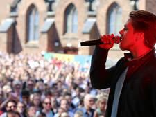 Dré Hazes van podium na bierdouche in Arnhem: Jullie hebben het zelf verpest