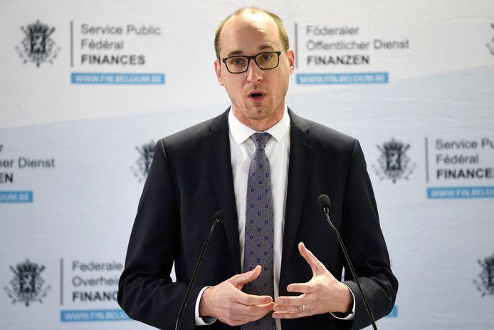 Vincent Van Peteghem, ministre fédéral des Finances