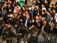 Politie verwijdert hekken Damascuspoort in Jeruzalem na dagen van rellen