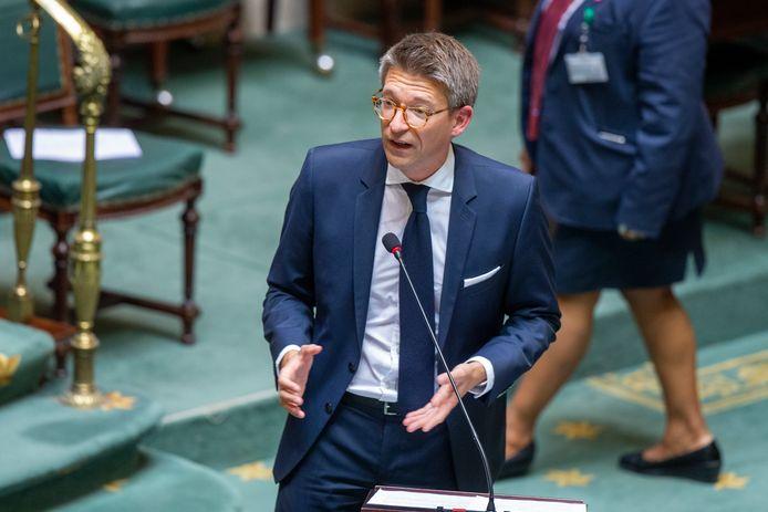 Le ministre de l'Economie Pierre-Yves Dermagne.
