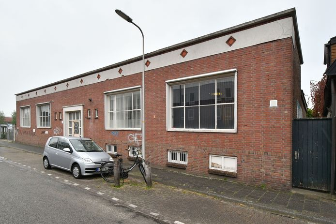 Het voormalige fabriekspand aan de Getfertweg: historici willen het behouden, omwonenden willen het kwijt.