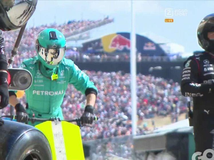 Zo pakte Verstappen de leiding over van Hamilton