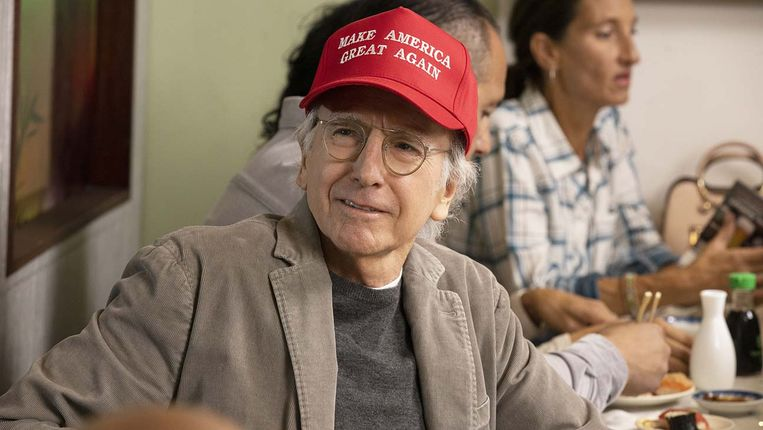 Larry David in Curb Your Enthusiasm. Beeld
