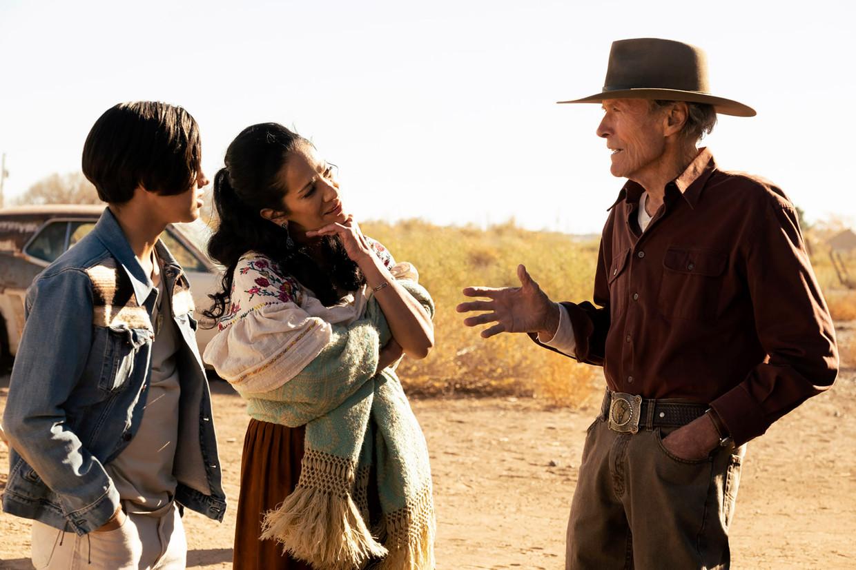 Clint Eastwood speelt een bejaarde rodeorijder in Cry Macho. Beeld
