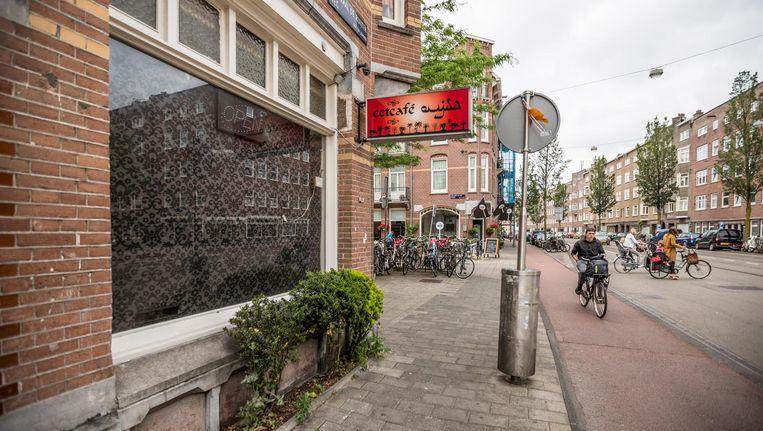 De hoek van de Admiraal de Ruijterweg en Reinaert de Vosstraat Beeld Eva Plevier