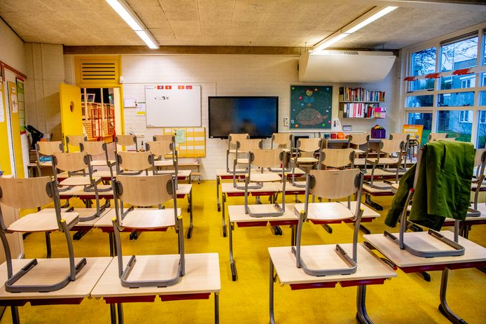 Ter illustratie: een leeg klaslokaal.