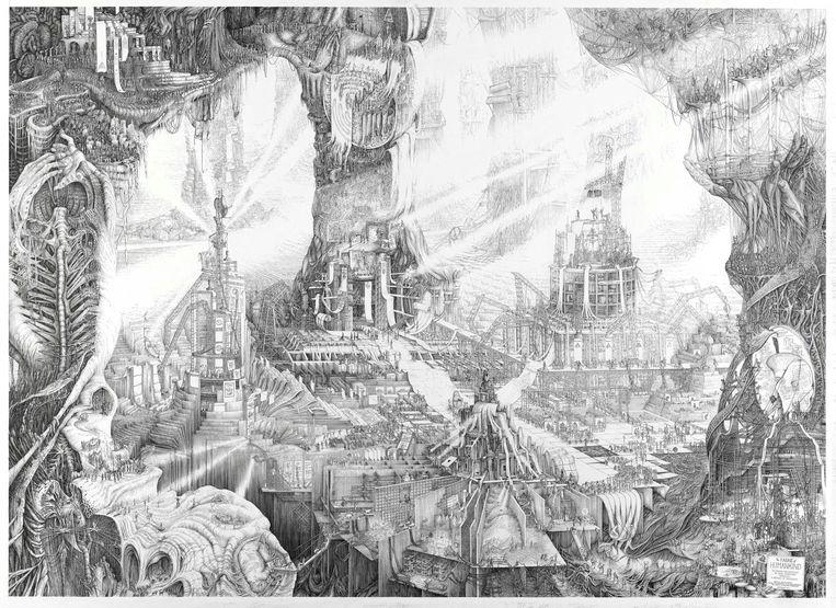 'Fabric of Humankind' van Carlijn Kingma. Beeld Collectie Rijksmuseum Twenthe