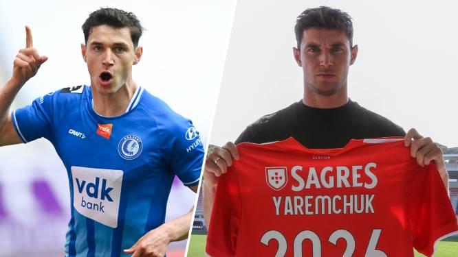 AA Gent vangt meteen 17 miljoen euro voor Yaremchuk en dwong 25 procent af bij doorverkoop