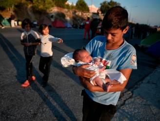 België bereid 12 kinderen uit afgebrande vluchtelingenkamp op Lesbos op te vangen