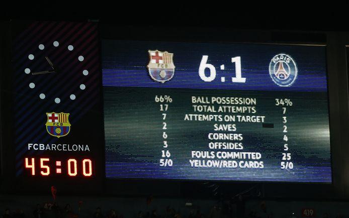 Paris Saint-Germain hield een trauma over aan het CL-duel van vier seizoenen geleden in Camp Nou.