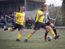 HAVO pakt koppositie, Driel wint met tien man, goalie Mick Kuling bezorgt DVOL een punt met kopgoal