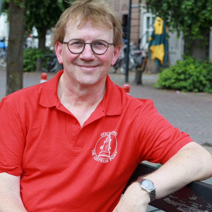 Arno de Kort van de stichting De Gestelse Pomp.