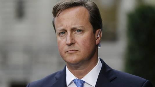 Britse premier David Cameron.