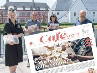 Vooruit Oudenaarde geeft Cafékrantje uit om horeca te steunen