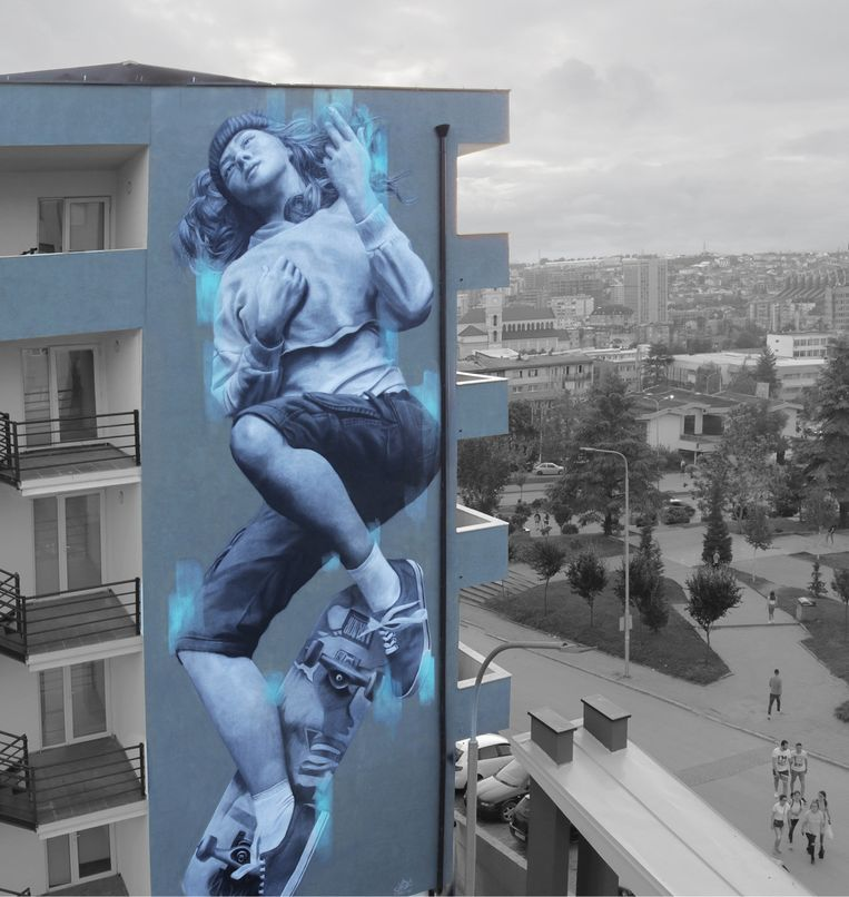 'Fall andRise', Kosovo, 2019. Beeld Judith de Leeuw