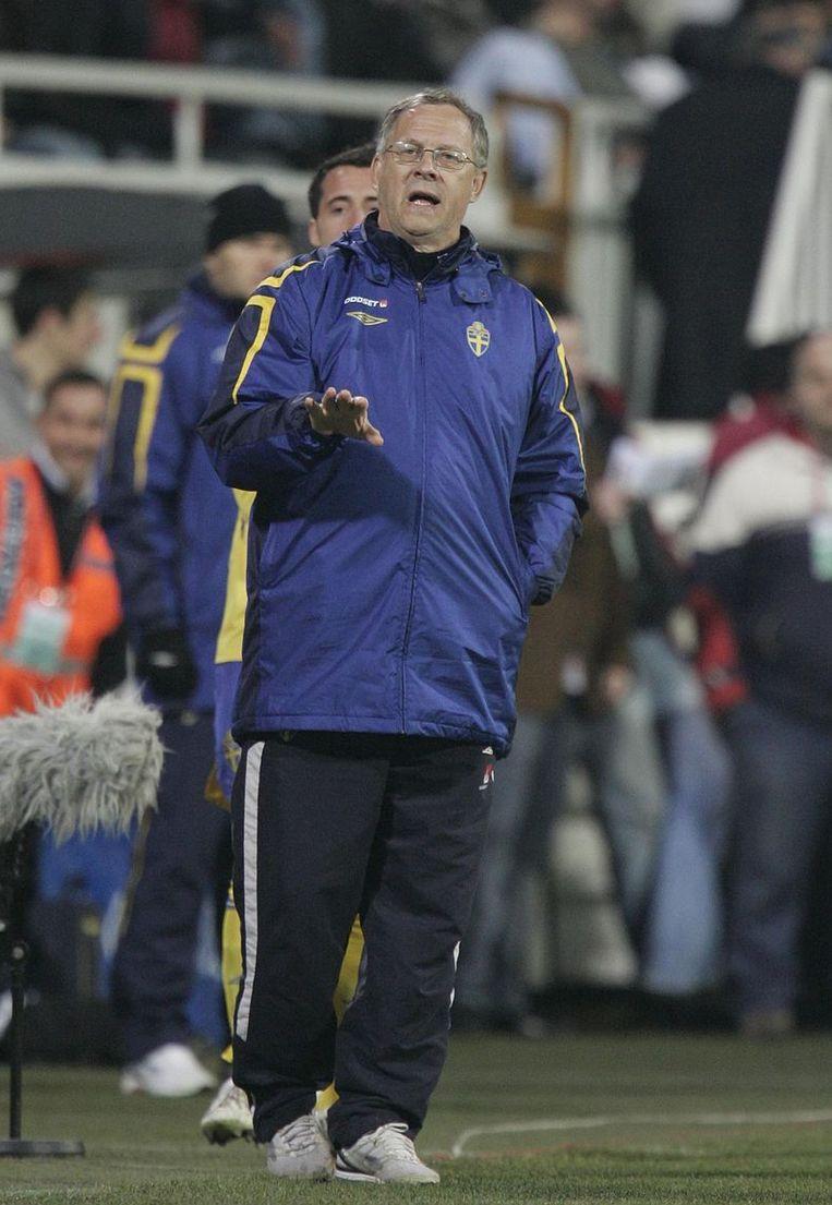 Lars Lagerbäck stopte na 10 jaar als bondscoach na het gemiste WK in 2010.